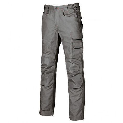 Pantalon de travail doté de deux grandes poches italiennes - FREE Stone Grey - DW022SG- U-Power
