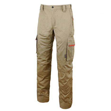Pantalon de travail doté de deux grandes poches multifonctions - RAVE Desert Sand - HY106DS - U-Power