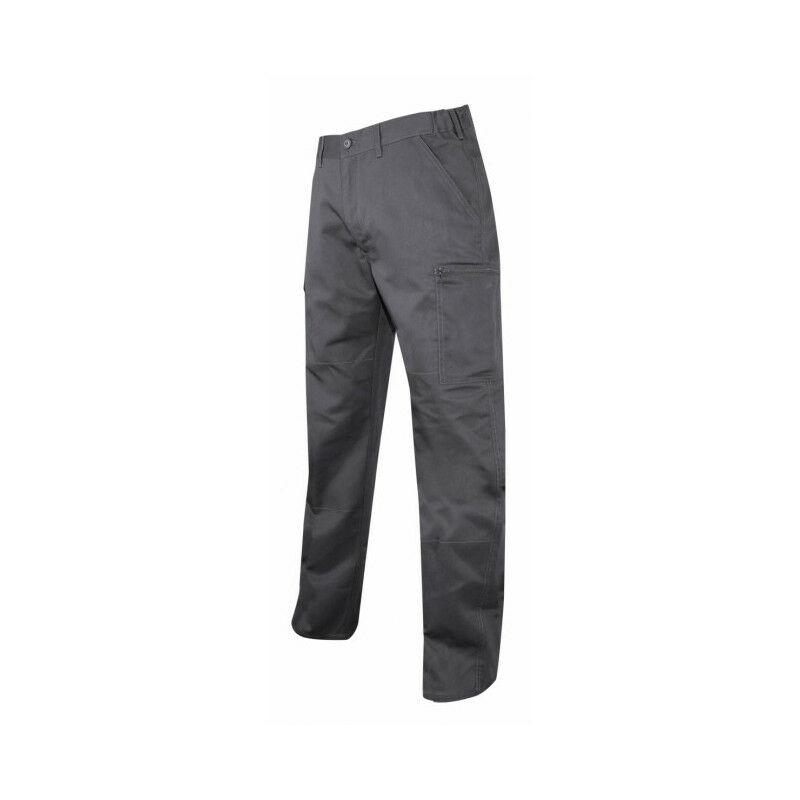 Pantalon coton poly gris DURITE LMA (50) - Taille pantalon : 50
