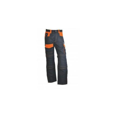 Pantalon de travail Elite - Anthracite/orange - Taille 50 - PMPE450 - Vepro