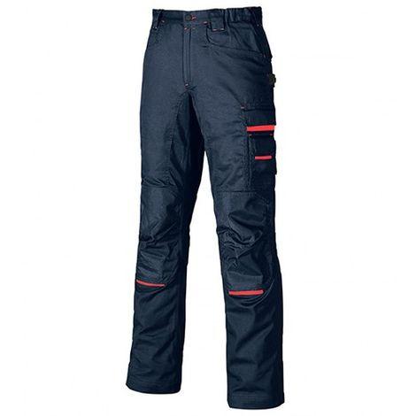 Pantalon de travail en poly-coton twill - NIMBLE Deep Blue - DW084DB - U-Power