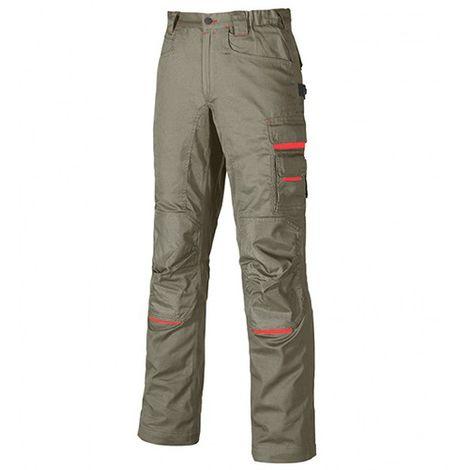 Pantalon de travail en poly-coton twill - NIMBLE Desert Sand - DW084DS - U-Power