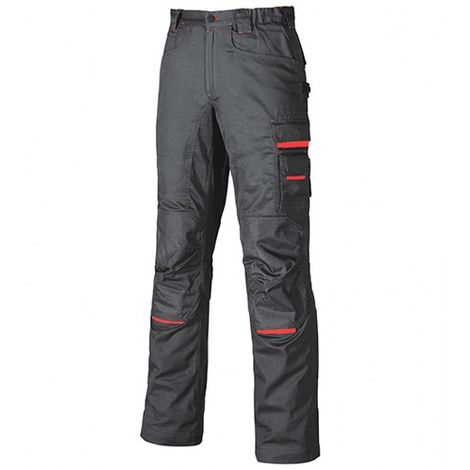 Pantalon de travail en poly-coton twill - NIMBLE Grey Meteorite - DW084GM - U-Power