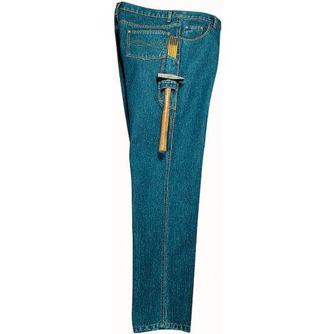 Pantalon de travail en toile denim - jean droit - taille 94 (mince) - taille 48 - taille M