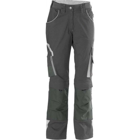 Pantalon de travail femme 24, DarkGrey/lightgrey,Gr.50