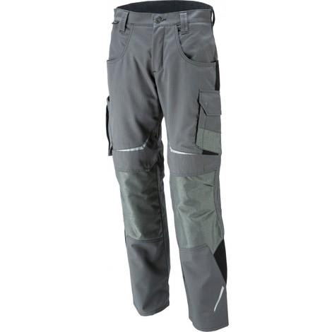 Pantalon de travail femme anthracite/noir, Taille 36