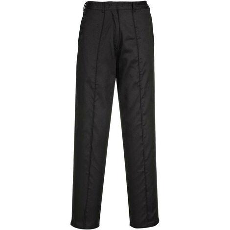 Pantalon de travail Femme Portwest Élastiqué Noir