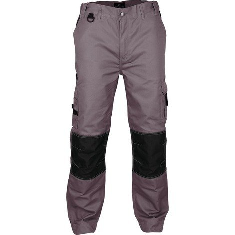 Pantalon de travail genoux et bas de jambes renforcés Outibat - Taille L - Gris
