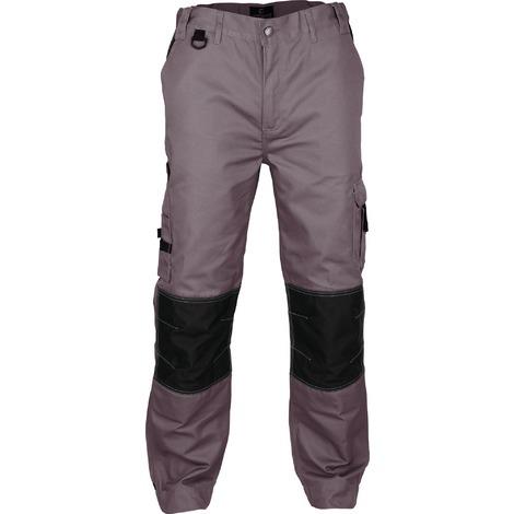 Pantalon de travail genoux et bas de jambes renforcés Outibat - Taille XL - Gris