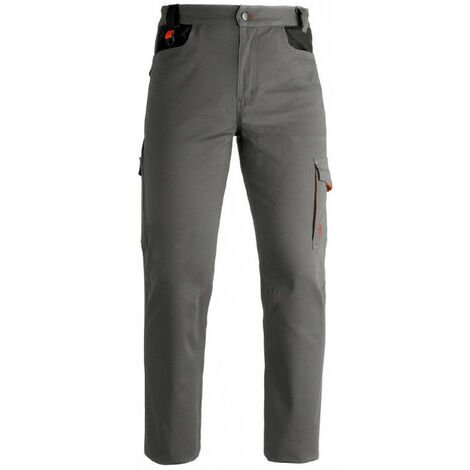 Pantalon de travail gris INDUSTRY Kapriol résistant et durable - plusieurs modèles disponibles