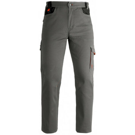 Pantalon de travail gris INDUSTRY Kapriol résistant et durable (xxxl (3xl)) - Taille : XXXL (3XL)
