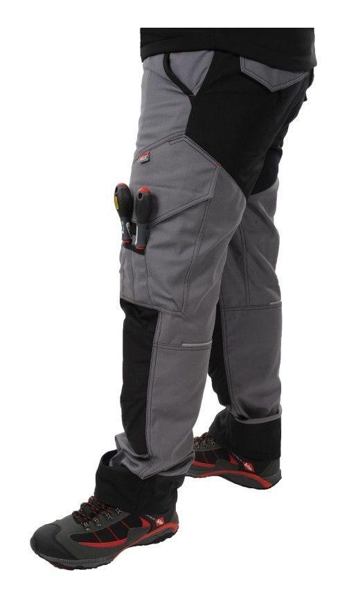 Pantalon Protector Gris/Noir du 38 au 56 56 - Kiplay