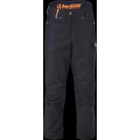 Pantalon de travail HARPOON Métallo - Noir - Taille 44 - 11279-005