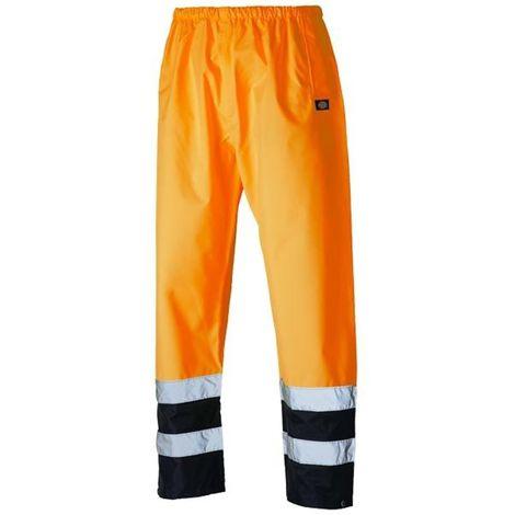Pantalon de travail haute visibilité bicolore - Dickies - SA1003 | L - Orange