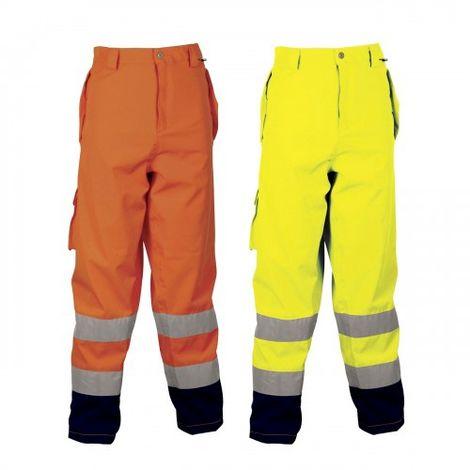 Pantalon de travail haute visibilité Cofra Reflex