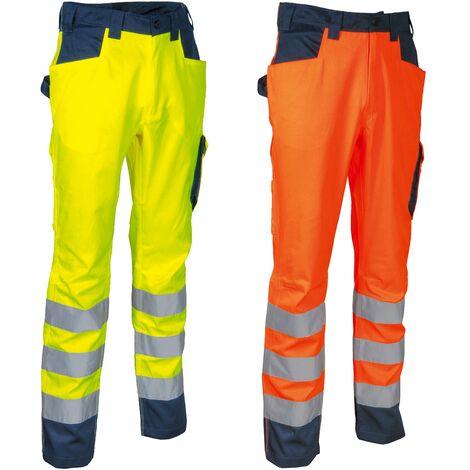 Pantalon de travail haute visibilité Cofra Upata