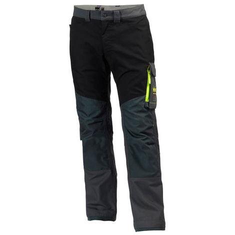 Pantalon de travail HELLY HANSEN Aker - Gris/Noir - Taille 40 - 77400_979_C46