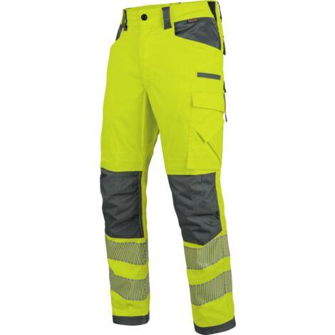 Pantalon de travail hiver EN 20471 2 Neon Würth MODYF jaune/anthracite