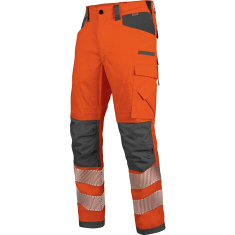 Pantalon de travail hiver Neon EN 20471 2 Würth MODYF orange/anthracite