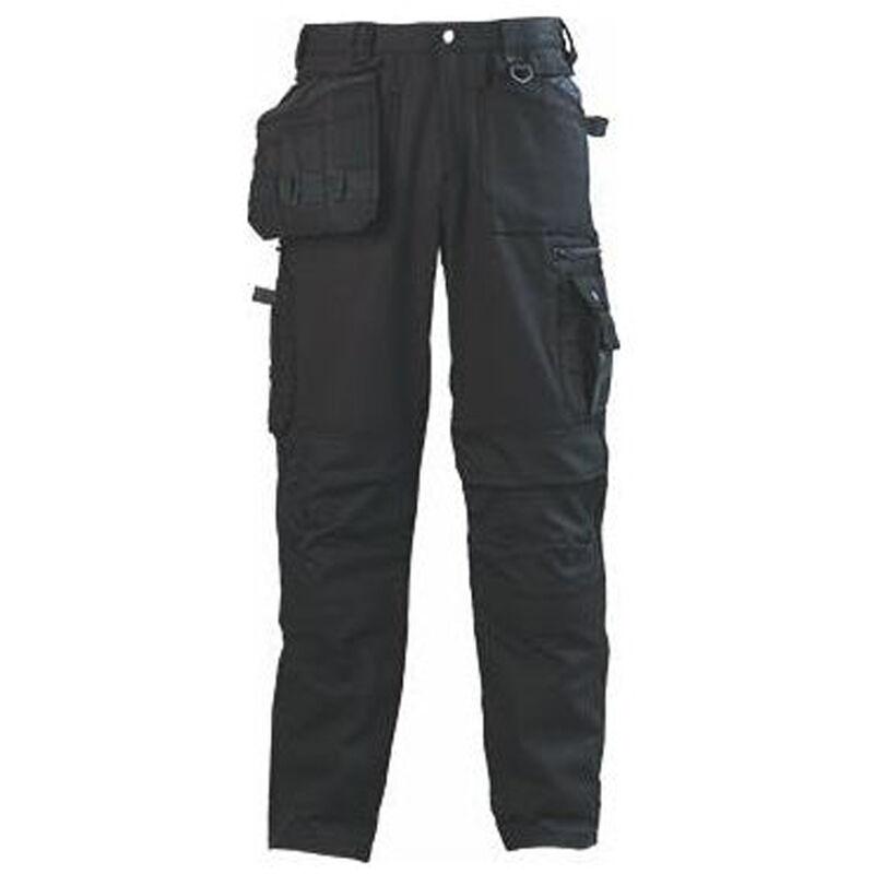 Pantalon de travail multipoches Coverguard Bound Noir 3XL