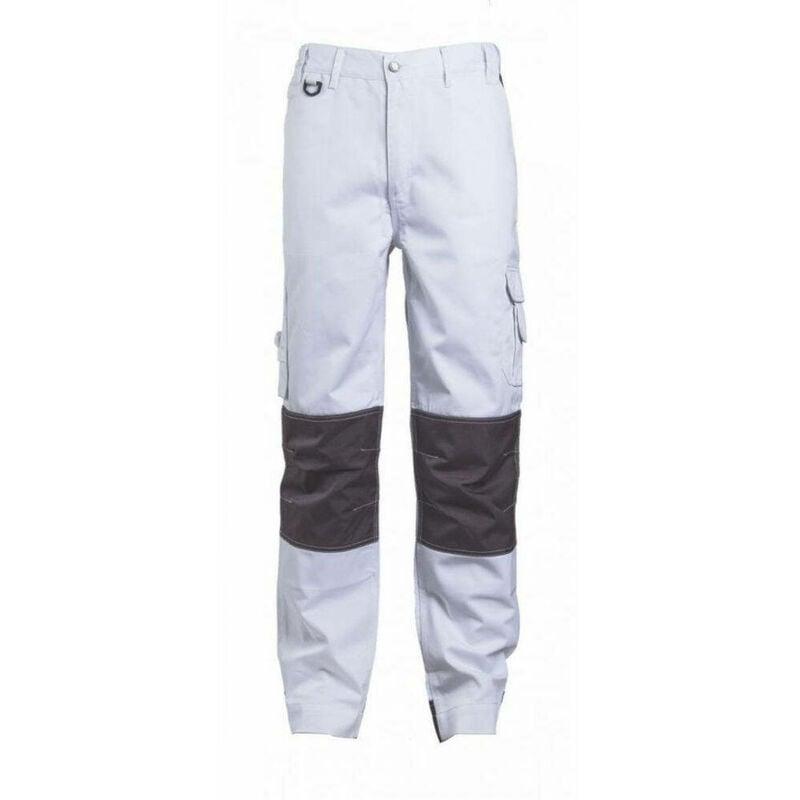 Pantalon de travail multipoches CLASS TROUSER Blanc 3XL - Coverguard