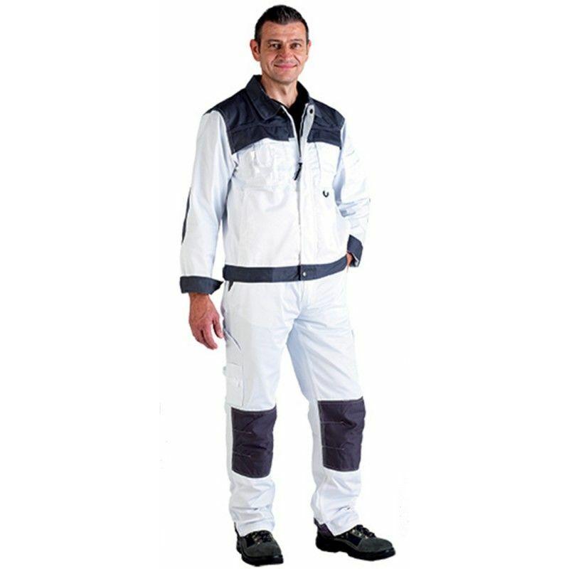 Pantalon de travail multipoches CLASS TROUSER Blanc XXL - Coverguard