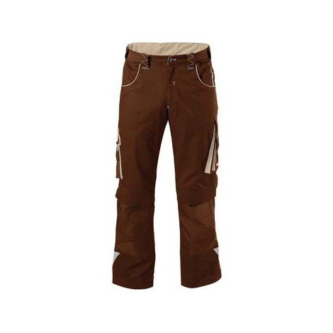 Pantalon de travail Homme FORTIS 24, Brown/beige,Gr.29