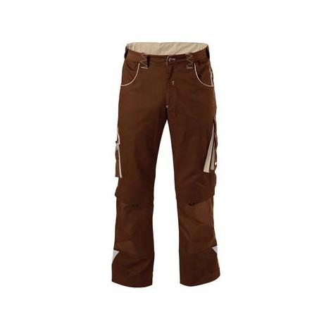 Pantalon de travail Homme FORTIS 24, Brown/beige,Gr.90