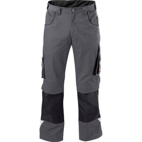 Pantalon de travail Homme FORTIS 24, Dark grey/black,Taille 33