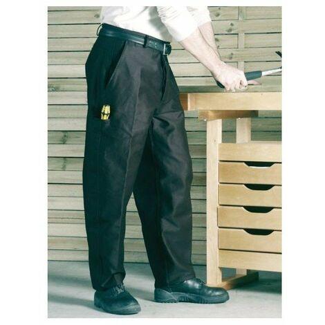 Pantalon travail moleskine 410g p13 noir 50
