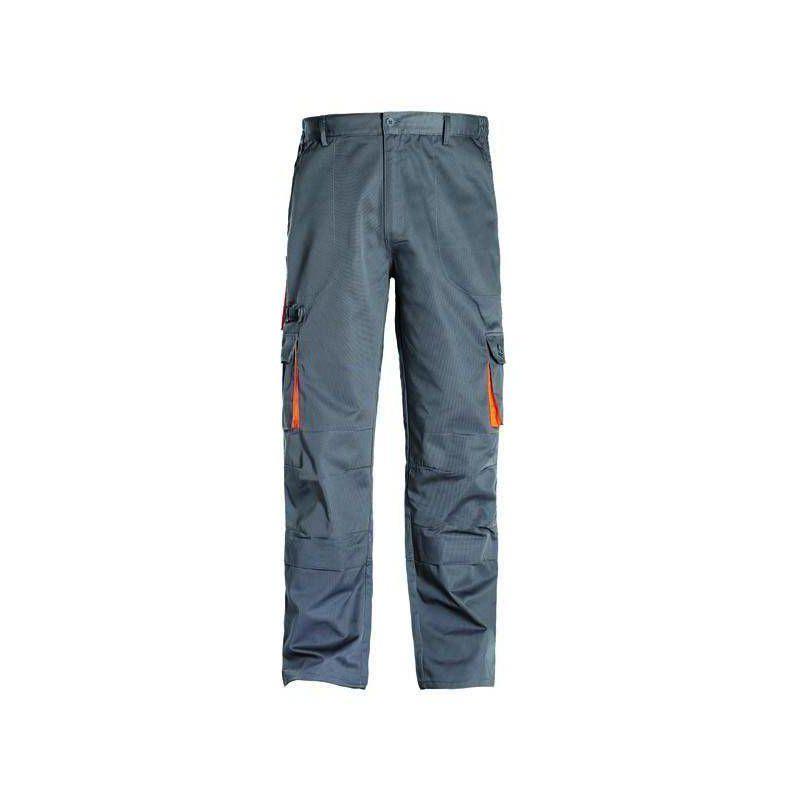 PADDOCK Pantalon de travail homme coton polyester Gris - T. S - Coverguard