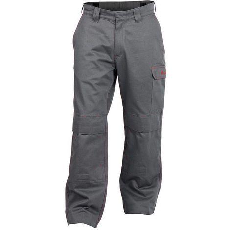 ARIZONA Pantalon de travail ignifugé pour soudeur Gris - T. 60 - Dassy