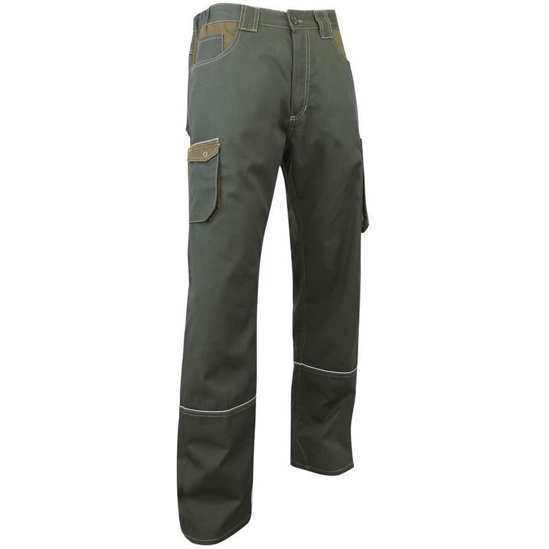 Pantalon de travail COMPAS Kaki 50 - LMA