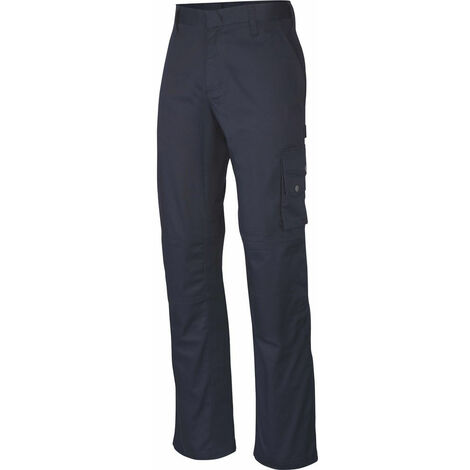 Pantalon de travail Kariban Multipoches Bleu Marine