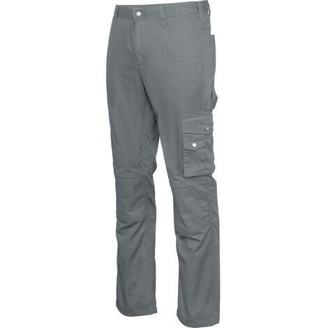 Pantalon de travail Kariban Multipoches Gris