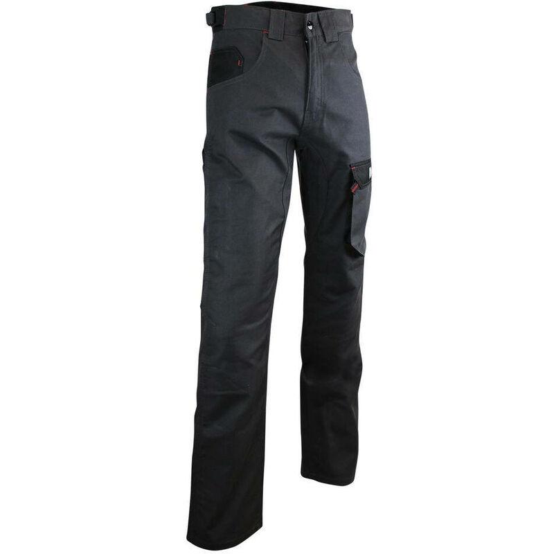 Pantalon de travail LMA Ciment Gris / Noir 54