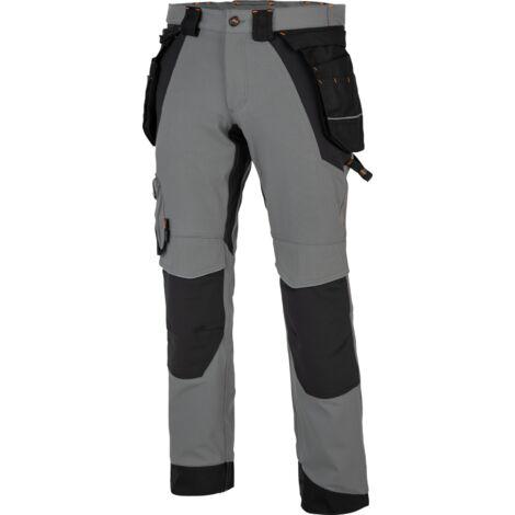 Pantalon de travail Morphix Timberland Pro gris/noir
