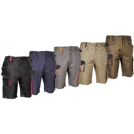 Pantalon de travail multi-poches court Cofra Liegi