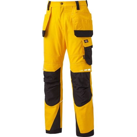 Pantalon de travail multipoches Pro Holster - DICKIES - DP1005R | Jaune - 46