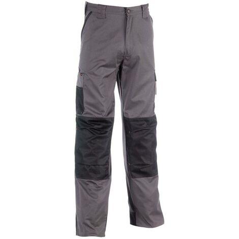 Pantalon de travail multipoches Mars Herock Gris Foncé L