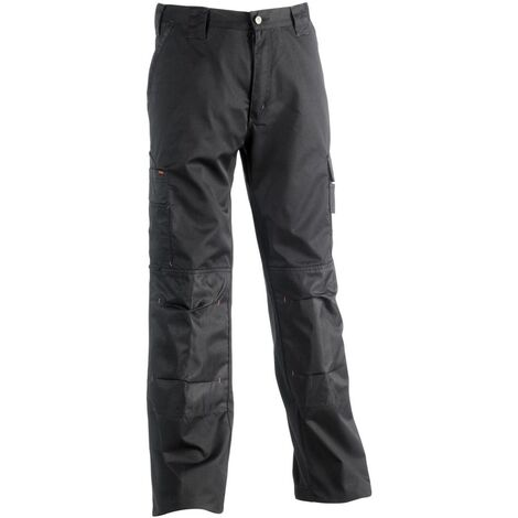 Pantalon de travail multipoches Mars Herock Noir M