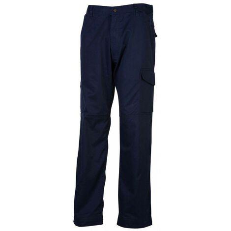 Pantalon de travail multipoches Rocks Pen duick Bleu Marine