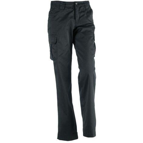 Pantalon de travail pour femme Athena Herock Noir