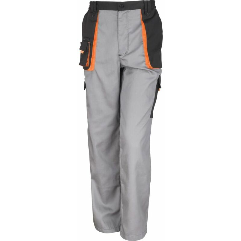 Pantalon de travail Result Lite Gris / Noir L