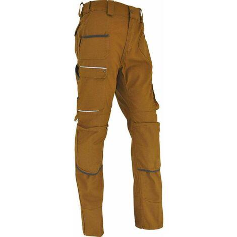 Pantalon de travail SAHARA taille 38, bronze
