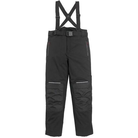 Pantalon de travail softshell à bretelles Coverguard Tao Noir