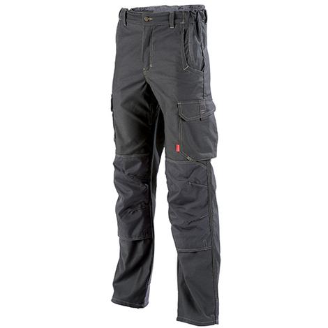 Pantalon de travail Stretch Charbon HAKAN