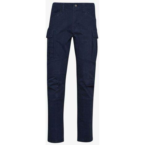 Pantalon de travail STRETCH DIADORA NEW YORK CARGO Bleu L