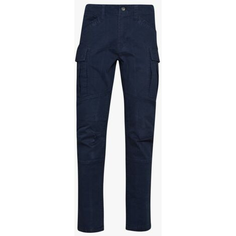 Pantalon de travail STRETCH DIADORA NEW YORK CARGO Bleu S