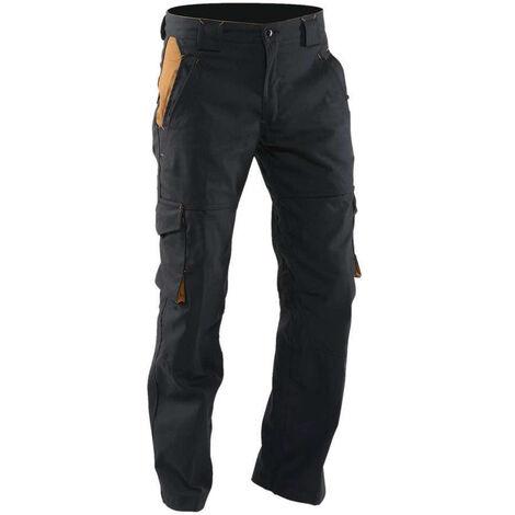 Pantalon de travail style sportwear NACELLE LMA Noir Camel
